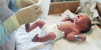 Nega pupka kod novorodjenčeta