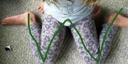 Pravilno sedenje kod malog deteta